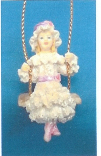Victorian Doll on Swing ©