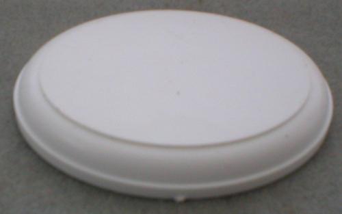 Oval White Base
