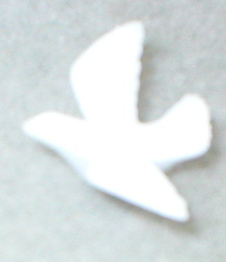 Small Plastic Dove