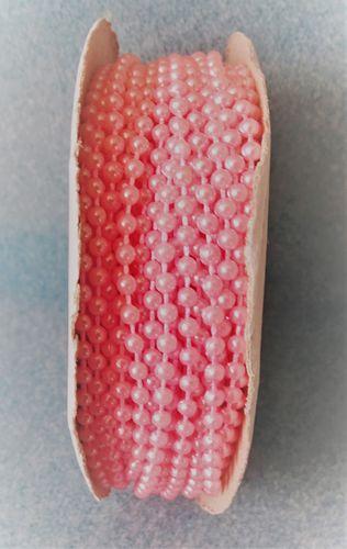 2.5mm Pink Fused Pearls