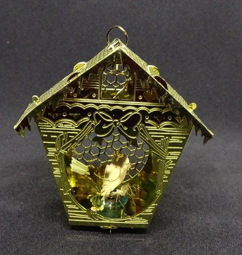 Gold Bird House