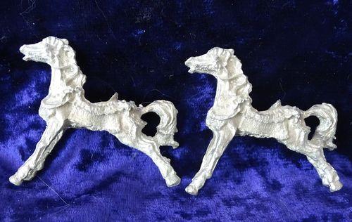 Metal Carousel Horses